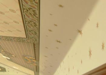 Stenciled Ceilings